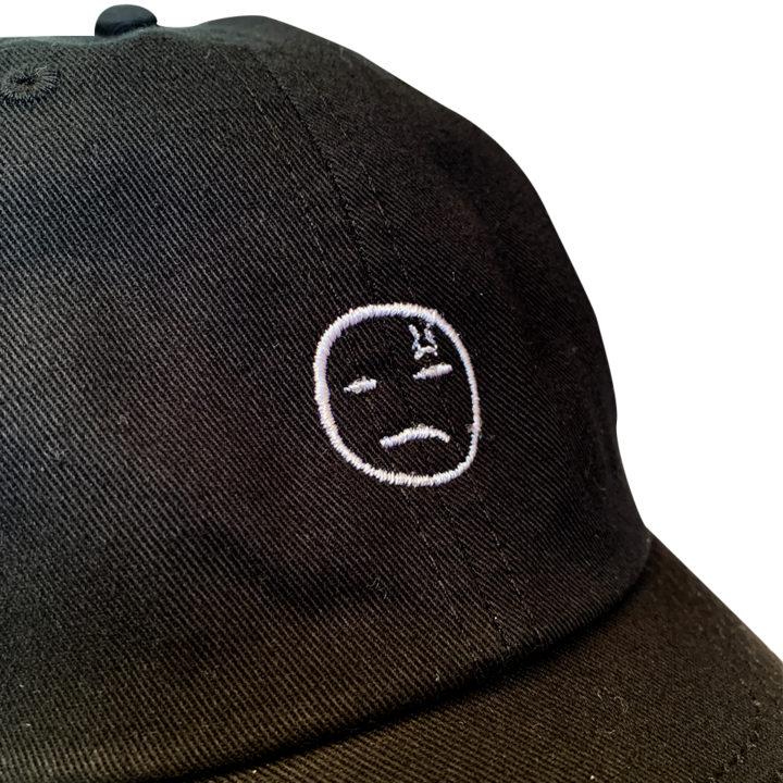 Dad Hat Optionskateboards black detjpg
